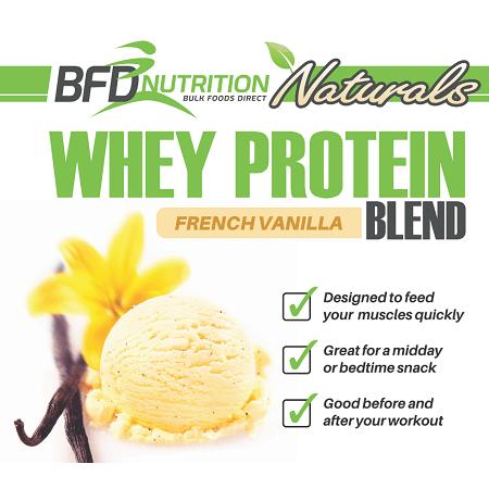 whey protein french vanilla