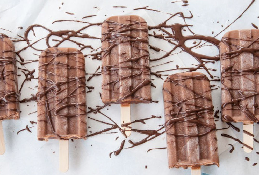 Guilt-free protein fudgsicles
